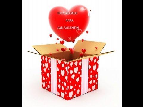 Caja de los 5 sentidos f cil y original youtube - Regalos de san valentin para el ...