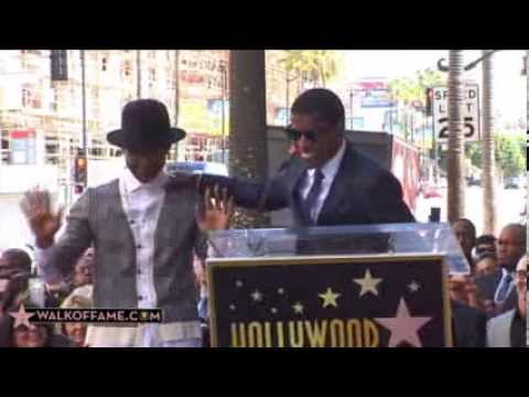 Kenny babyface Edmonds Walk Of Fame Ceremony video