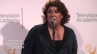 """Margo Martindale discusses """"The Americans"""" at the 2015 Creative Arts Emmys"""
