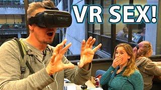 VR SEX PORN VIDEO Prank in Library!!