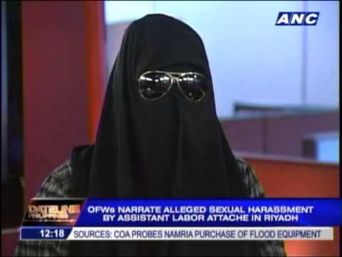 Ofws Recount 'sexual Harassment' By Polo Official In Riyadh video