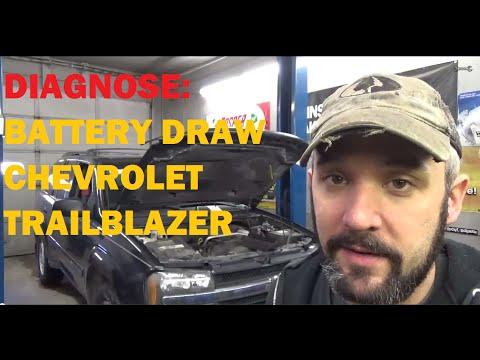 Diagnose: Battery Drain / Parasitic Draw - Chevy Trailblazer