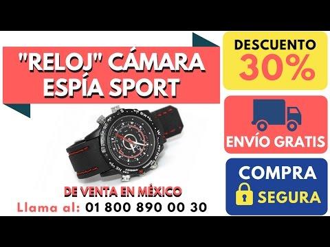 Reloj Espia Sport de Venta en Mexico