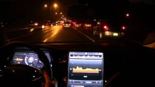 Driving the Tesla Model S