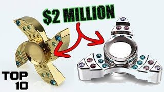 Top 10 Most Expensive Fidget Spinners