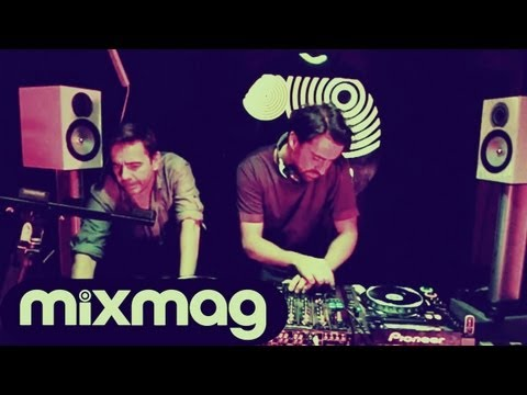 Laurent Garnier B2B Yousef in the Mixmag DJ Lab