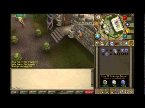Runescape- The BEST 1-99 Magic Guide 2012