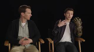 Peter Parker and Dr. Strange Talking about The Infinity Gauntlet and Spoiler Avengers End Game?