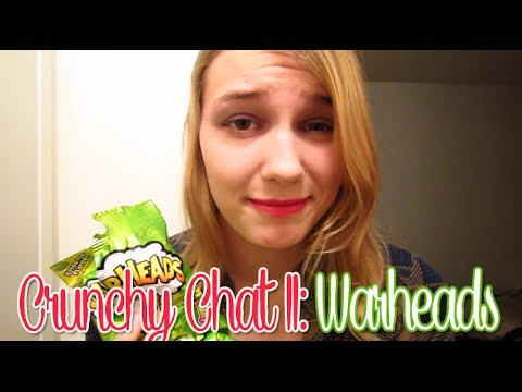 [BINAURAL ASMR] Crunchy Chat II: Warheads (ear-to-ear whisper, hard candy, mouth sounds, etc.)