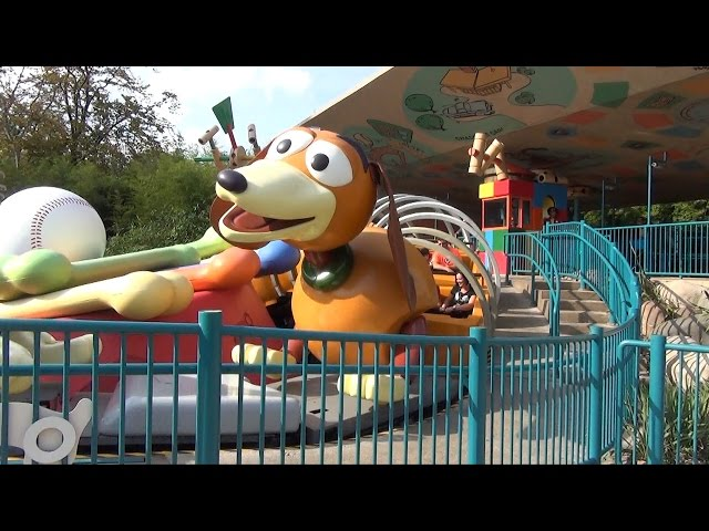 Toy Story Playland Overview at Walt Disney Studios, Disneyland Paris - RC Racer, Slinky Dog Zigzag