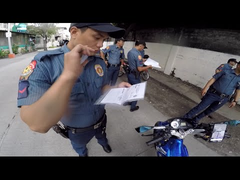 Police Checkpoint Experience