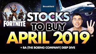 3 Stocks To Buy In April 2019
