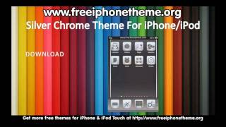 Silver Chrome iPhone iPod Touch Theme
