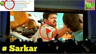 SARKAR   Tamil Rockers Challenge to Sarkar Team S