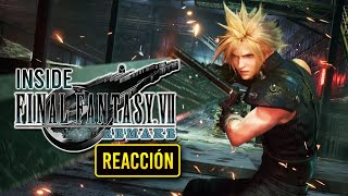 Mi REACCIÓN a la PARTE 3 del INSIDE FINAL FANTASY VII REMAKE, el DOCUMENTAL sobre el COMBATE!
