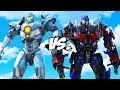 PACIFIC RIM Vs TRANSFORMERS   Optimus Prime VS Gipsy Avenger
