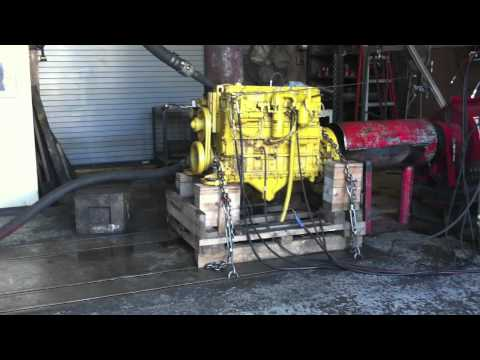 CAT 3116 Engine Dyno Test