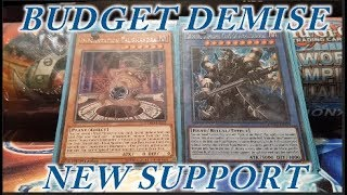 YUGIOH NEW SUPPORT Demise Ritual Deck Profile