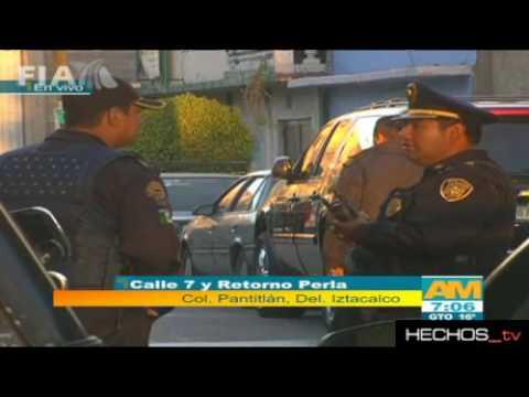 BALACERA ENTRE POLICIAS Y SECUESTRADORES ES INVESTIGADA