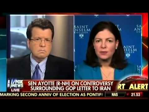 Kelly Ayotte on letter to Iran