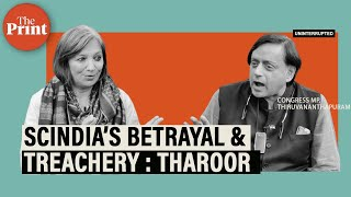 If Congress carries on like this, others may go Scindia way : Tharoor