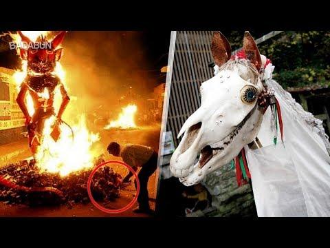 Las tradiciones navideñas más enfermas del  mundo