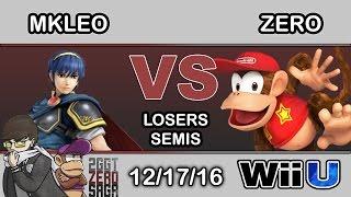 2GGT: ZeRo Saga - SF   MkLeo (Marth) Vs. TSM   ZeRo (Diddy Kong) Losers Semis - Smash Wii U