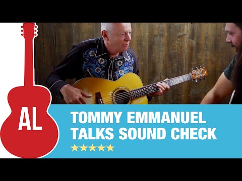 Tommy Emmanuel i Rarely Have People At Soundcheck W  Tony Polecastro (2 Of 2) video