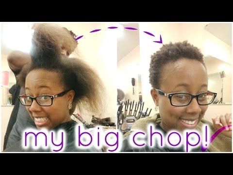 MY BIG CHOP!!