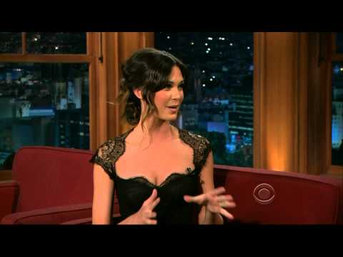Odette Annable Late Late Show with Craig Ferguson 2011/04/28 1080p HD