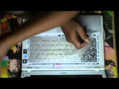 Sony Vaio Laptop keyboard replacement and repair