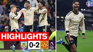 Martial & Rashford seal win for the Reds | Burnley 0-2 Manchester United | Premier League 2019/20