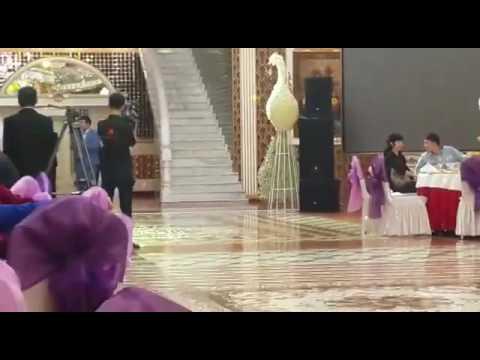 Минги тау в исполнении балкарцев на свадьбе в Алматы
