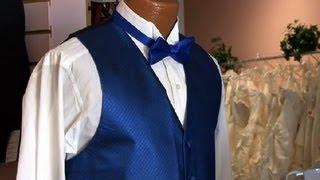 Etiquette for a Tuxedo With a Bow Tie & Vest : Tuxedos 101