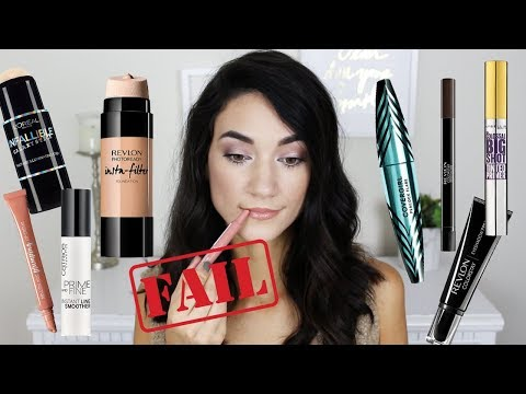 HUGE Drugstore Makeup Haul + Wear Test