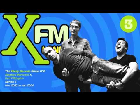XFM The Ricky Gervais Show Series 3 Episode 3 - The best bum in W1