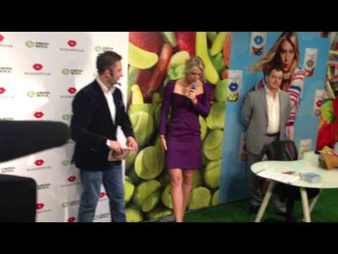 Презентация Sugarpova в Москве 29.04.2013 (Sugarpova in Moscow)