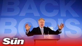 Boris Johnson launches Conservative leadership campaign