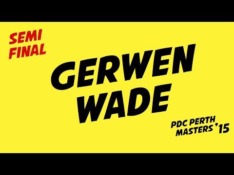 Darts Perth Masters '15: v. Gerwen vs Wade   1/2 Final