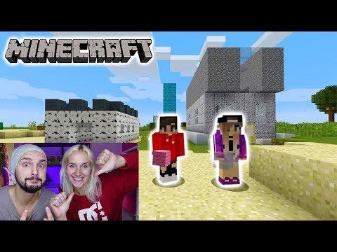 NINAS HAUS VS. KAANS HAUS! WELCHES IST SCHÖNER? Minecraft Build Battle  #KaNiZocken