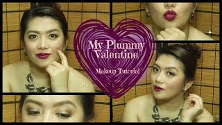 My Plummy Valentine Makeup Tutorial #teamcollab | KimGoddess