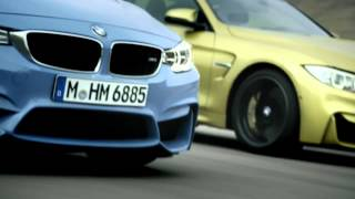 2014 BMW M3 & M4 - Official launchfilm / BMW M3 Limousine, M4 Coupé - Vorstellungsvideo neu