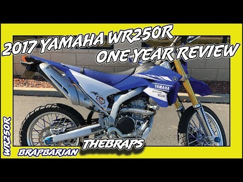 2017 Yamaha WR250R 1 Year Review
