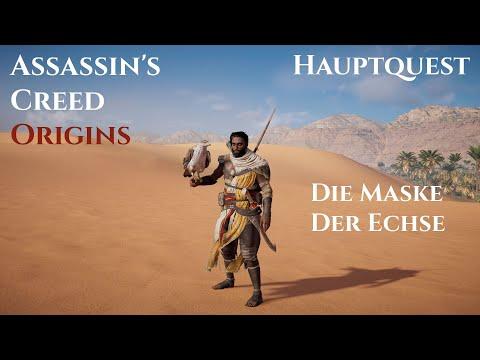 Die Maske Der Echse - Assassin's Creed Origins