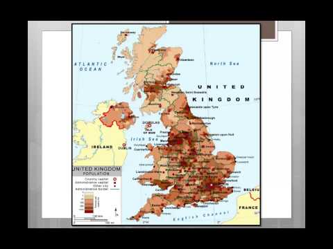 Lesson 4 - Population Distribution in the UK