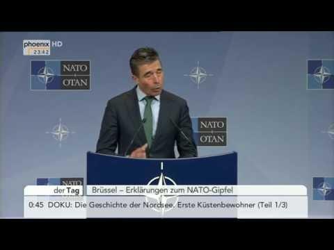 NATO-Außenministertreffen - Steinmeier, Rasmussen & Kerry zur Krim-Krise am 01.04.2014