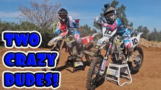 CRAZY MOTOCROSS RIDING FT. COLTON HAAKER!