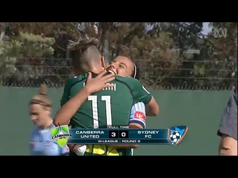 091114 Canberra United vs Sydney FC