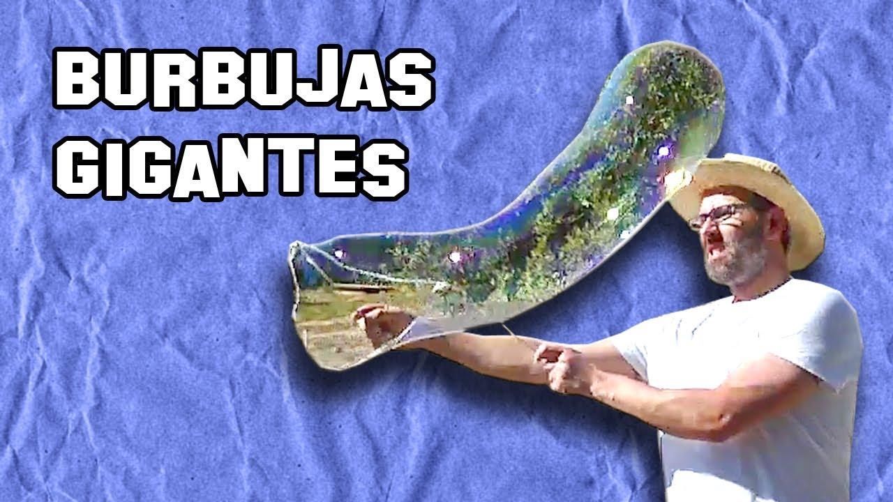 como hacer burbujas de jab n gigantes y su l quido