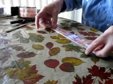 How To Make Cruise Line Luggage Tags by Paul